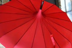 Red parasol Royalty Free Stock Photos