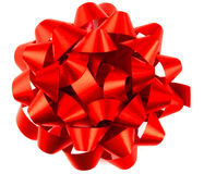 Red Parcel Bow Royalty Free Stock Images