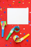 Red party background Royalty Free Stock Photos