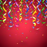 Red party background Royalty Free Stock Photography