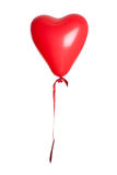 Isolated Heart Shaped Balloon Stock Images