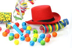 Red party hat Royalty Free Stock Photos