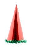 Red party hat cone. Stock Photography