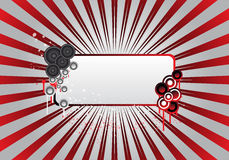 Free Red Party Text Frame Royalty Free Stock Photos - 9063338