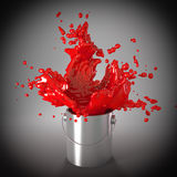 Red passion Stock Image