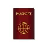 Red passport Royalty Free Stock Photos