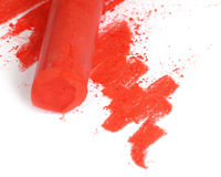 Red pastel two Royalty Free Stock Image