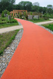 Red path no.1 Royalty Free Stock Photo