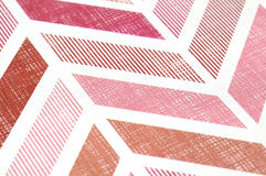 Red Pattern Lines. Close up photo of pattern lines Royalty Free Stock Images