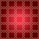 Red pattern with squares - vector Royalty Free Stock Photo