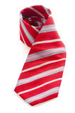 Red pattern tie Stock Images