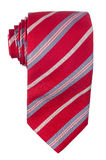 Red pattern tie Royalty Free Stock Photography