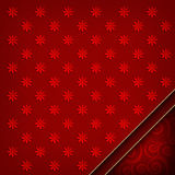 Red patterned background Stock Images