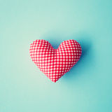 Red Patterned Heart Stock Photo