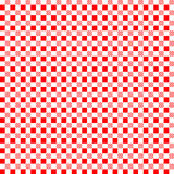Red patterns tablecloths. Seamless pattern Stock Photos