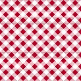 Red patterns tablecloths stylish a illustration design. Geometrical traditional ornament for fashion textile, cloth, backgrounds. Royalty Free Stock Images