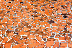 Red Pavement Stock Images