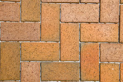 Red Pavers Stock Images
