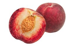 Red peaches Royalty Free Stock Image