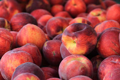 Red peaches background Royalty Free Stock Photo