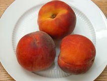 Red Peaches Royalty Free Stock Photo