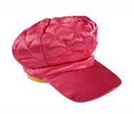 Red peaked cap Stock Images