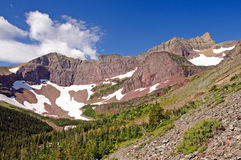 Red Peaks in the Wilds Stock Photo