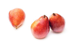 Red pear Stock Photos