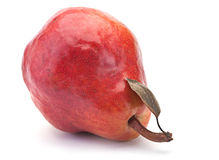 Red pear fruit Stock Images