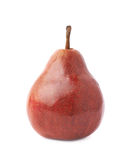 Red pear fruit isolated Royalty Free Stock Photo