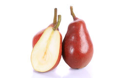 Red pear Royalty Free Stock Photo