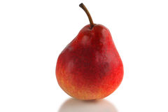 Red pear Royalty Free Stock Images
