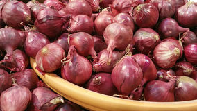 Red Pearl Onions Royalty Free Stock Photo