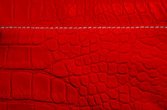 Red pearl texture of reptile skin Royalty Free Stock Images
