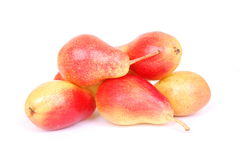 Pears on white Stock Photo