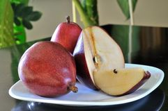 Red pears Stock Image