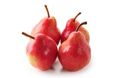 Red pears Stock Images