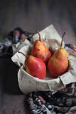 Red Pears Royalty Free Stock Photos