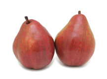 Red pears, isolated Stock Photography