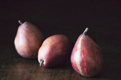 Red Pears Royalty Free Stock Photography