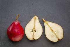 Red pears still life Royalty Free Stock Photos