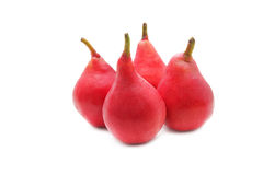 Red pears Royalty Free Stock Images