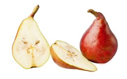 Red pears. Stock Image