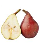 Red pears. Stock Photo