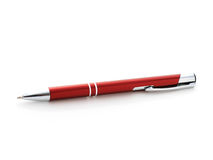 Red pen. Stock Photos