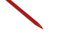 Red pen isolated Stock Photos