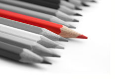 Red pencil Stock Photos