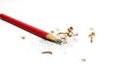 Red pencil Stock Photography