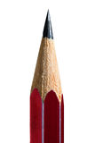 Red pencil in high resolution isolated on white background. For design education Royalty Free Stock Images