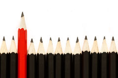 Red Pencil II Stock Photography